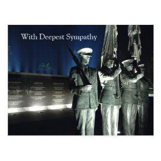 Military Loss Postcard