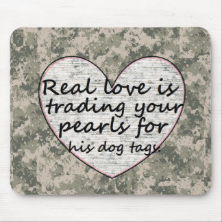 Military Love Mouse Pad