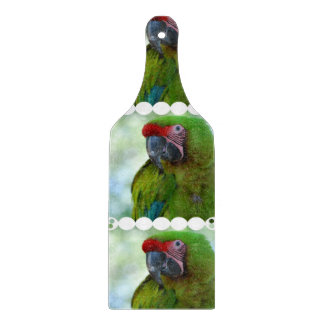 Military Macaw Cutting Boards