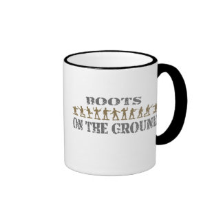 Military Men - Boots on the Ground Coffee Mug