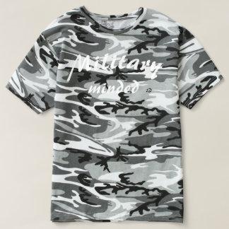 Military Minded (Elite Gains Unit) Camo Tshirt