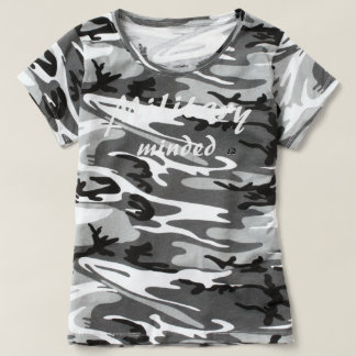 Military Minded (Gym Ops) Customizable Camo Tshirt