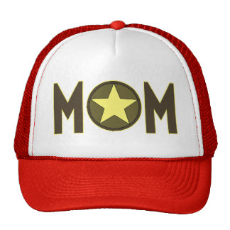 Military Mom Mothers Day Gifts Trucker Hats