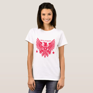 MILITARY MOM_pink design T-Shirt