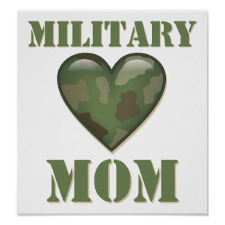 Military Mom Posters