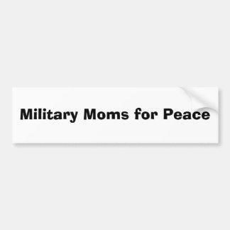 Military Moms for Peace Bumper Sticker