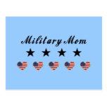Military Mum Postcard