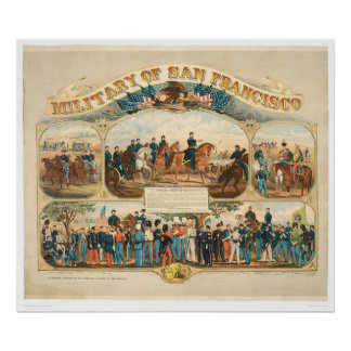 Military of San Francisco (0064A) Poster