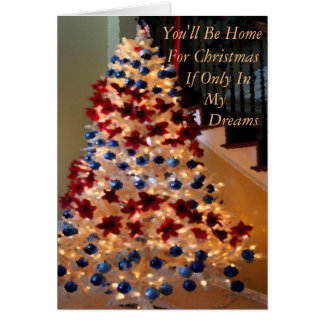 Military or Away From Home Christmas Card