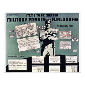 Military Passes And Furloughs Invitation