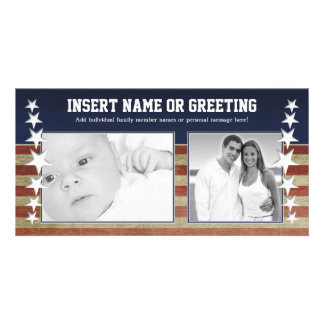 Military / Patriotic Photo Card