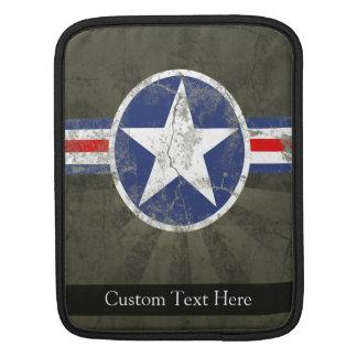 Military Patriotic Vintage Star iPad Sleeves