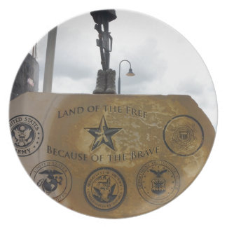 Military Party Plate