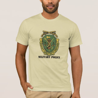 MILITARY POLICE - Assist, Protect, Defend T-Shirt