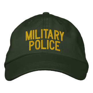 MILITARY POLICE EMBROIDERED CAP