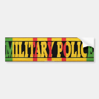 Military Police Vietnam Service Medal Sticker Bumper Sticker
