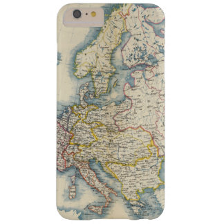 Military Political Map of Europe Barely There iPhone 6 Plus Case