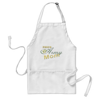 Military Proud Army Mom Apron