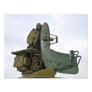 military radar antenna personalized invites