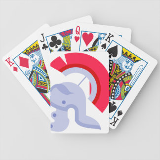 Military Roman Helmet Bicycle Playing Cards