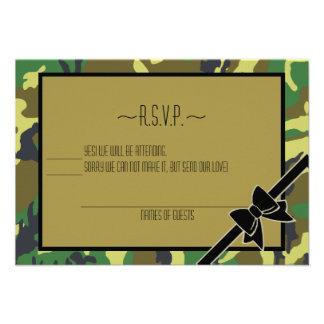 Military Send Off Party-RSVP Custom Invites