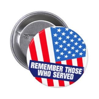 Military Service 6 Cm Round Badge