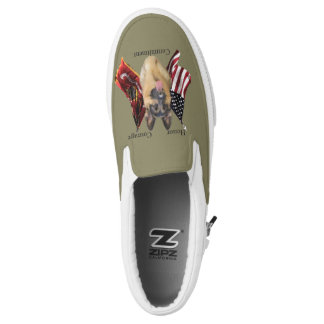 Military Service Dogs  German Shepherd Printed Shoes