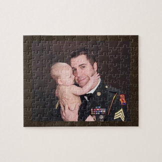Military Soldier Custom Personalized Jigsaw Puzzles