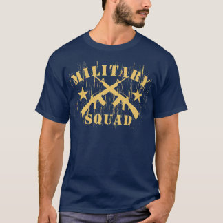 Military Squad M16 - Yellow T-Shirt