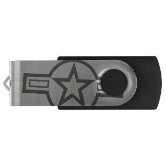 Military Star USB Flash Drive