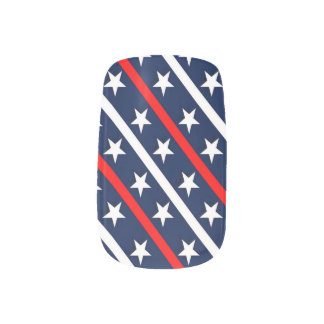 Military Support Nail Wraps
