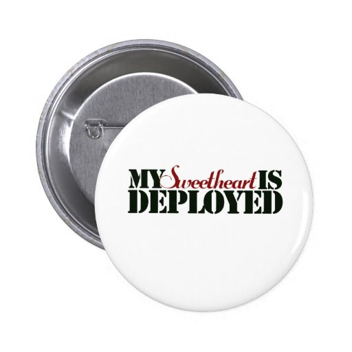 Military Sweetheart Buttons