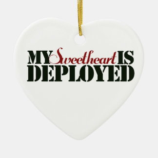 Military Sweetheart Ornaments