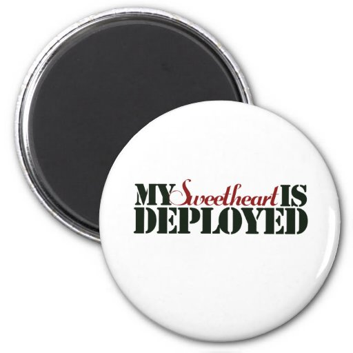 Military Sweetheart Refrigerator Magnets
