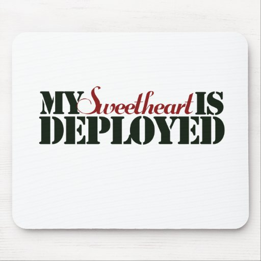 Military Sweetheart Mouse Pads