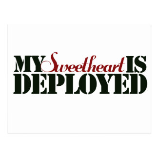 Military Sweetheart Postcard