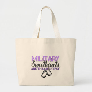 Military sweethearts canvas bag