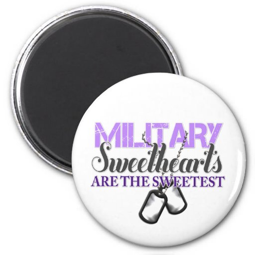 Military sweethearts magnet