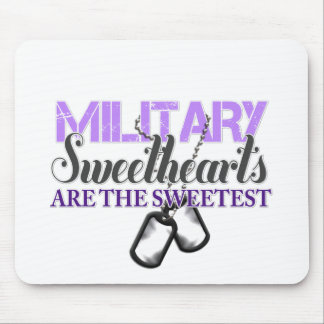 Military sweethearts mousepads
