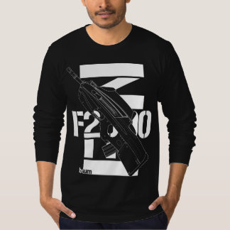 military t-shirts FN F2000 Assault rifle
