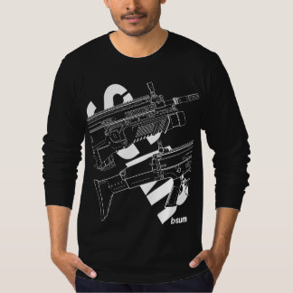 military t-shirts FN SCAR Assault Rifle