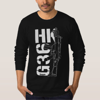 military t-shirts HK G36 Assault rifle