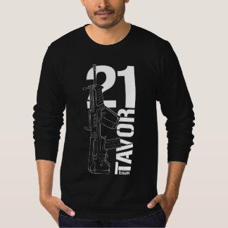 military t-shirts IWI Tavor21 Assault rifle