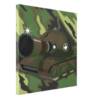 Military Tank Gallery Wrap Canvas