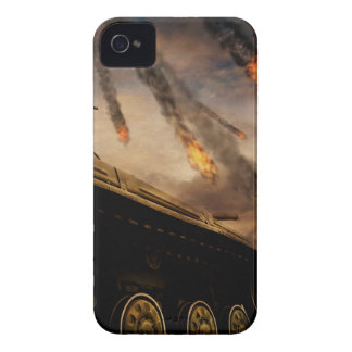Military Tank on Battlefield Case-Mate iPhone 4 Case