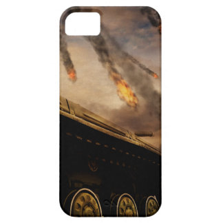 Military Tank on Battlefield iPhone 5 Covers
