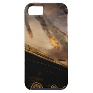 Military Tank on Battlefield Tough iPhone 5 Case