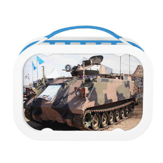 Military tank vehicle lunchboxes