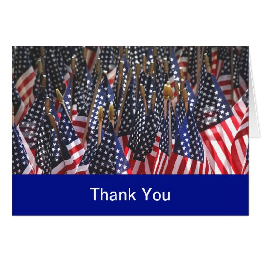 Military Thank You Cards
