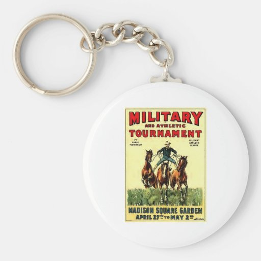 Military Tournament Keychains
